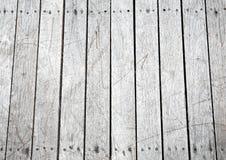 Superfície do fundo da textura com riscos e pregos ou velho de madeira Imagem de Stock
