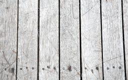 Superfície do fundo da textura com riscos e pregos ou velho de madeira Foto de Stock