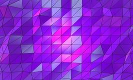Superfície do fundo de Wireframe Imagens de Stock Royalty Free