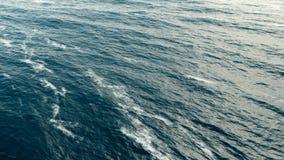 Superfície do mar com ondas Fotos de Stock Royalty Free