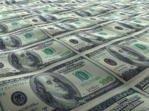 Superfície do mar do dólar americano Imagem de Stock