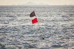 A superfície do mar está acenando Foto de Stock