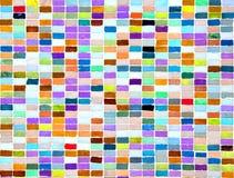Superfície do mosaico como o fundo Fotos de Stock