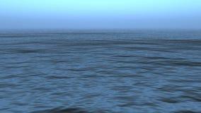 Superfície do oceano Ondas de oceano calmas filme