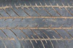 Superfície do pneu Imagem de Stock Royalty Free
