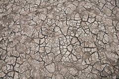 Superfície do solo causada pelo fundo da seca imagem de stock royalty free