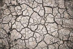 Superfície do solo causada pelo fundo da seca fotos de stock royalty free