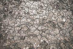 Superfície do solo causada pelo fundo da seca foto de stock royalty free