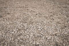 Superfície do solo causada pelo fundo da seca fotos de stock