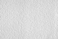Superfície do wall-paper branco Imagens de Stock