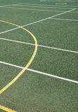 Superfície dos esportes exteriores Fotografia de Stock Royalty Free