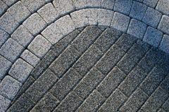 Superfície dos tijolos da estrada Imagem de Stock Royalty Free