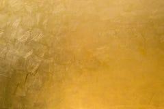 Superfície dourada Foto de Stock