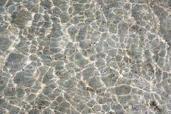 Superfície e reflexões da água fotografia de stock royalty free