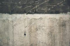 Superfície exterior suja do muro de cimento do Grunge Fotografia de Stock