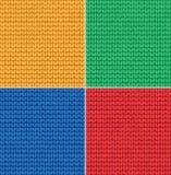 Superfície feita malha Imagens de Stock