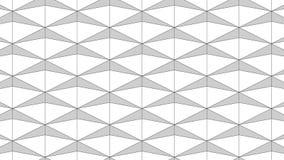 Superfície geométrica fundo sem emenda gerado por computador do movimento do sumário do laço ilustração royalty free