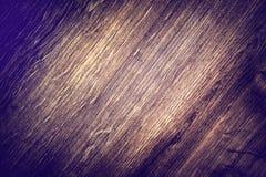 Superfície macia da madeira do marrom escuro como o vintage horizontal do fundo Fotos de Stock