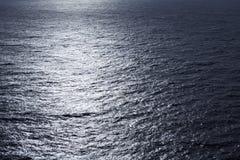 Superfície ondulada da água do lago, fim acima Fotografia de Stock Royalty Free