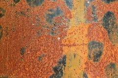 Superfície oxidada Imagens de Stock Royalty Free
