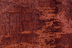 Superfície oxidada do ferro Foto de Stock