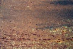 Superfície oxidada do ferro Imagens de Stock