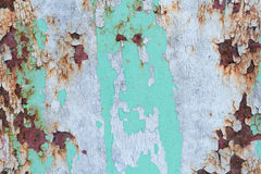 Superfície pintada velha Fotografia de Stock