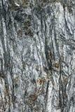 Superfície refletindo de mineral quebrado com inclusões vermelhas Fotografia de Stock Royalty Free