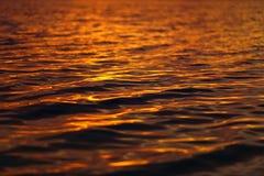 Superfície Rippled da água Imagem de Stock Royalty Free