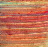 Superfície riscada do grunge da textura de papel velha vermelha Foto de Stock
