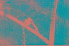 Superfície textured tropical na cor do coral de vida imagens de stock