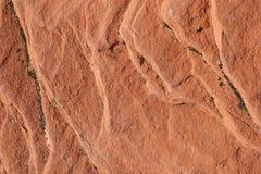 Superfície vermelha da rocha Fotos de Stock