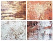 Superfícies metálicas oxidadas fotos de stock royalty free