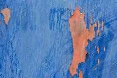 Superf?cie do ferro com pintura velha imagem de stock