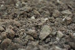 Superf?cie Textured da terra como o fundo Solo f?rtil para cultivar e jardinar imagem de stock