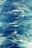 Superfície da água do oceano Foto de Stock Royalty Free