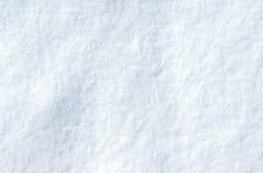 Superfície do branco da neve Fotografia de Stock