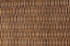 Superfície do vime da textura do weave do fundo da natureza do teste padrão para a textura do material da mobília Imagem de Stock