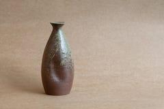 Superfici dell'ombra e della luce, offuscamento ceramico d'annata del backgroun dei vasi fotografie stock libere da diritti