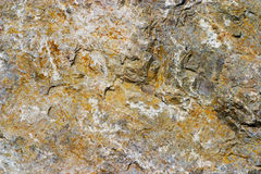 Superficie áspera de la roca Foto de archivo libre de regalías