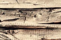 Superficie áspera de madera del viejo fondo de textura Imagenes de archivo