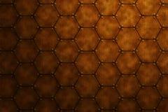 Superficie approssimativa del ferro Fotografie Stock Libere da Diritti