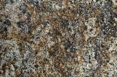 Superficie approssimativa della pietra del granito Fotografie Stock
