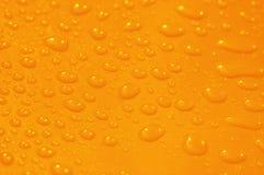 Superficie arancione Fotografia Stock Libera da Diritti