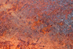 Superficie arrugginita. immagine stock