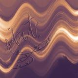 Superficie astratta Arte della parete di stile di calligrafia Il colore ha macchiato la carta digitale illustrazione di stock