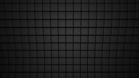 Superficie astratta dei cubi neri archivi video