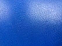 Superficie azul la luz del impacto imagen de archivo