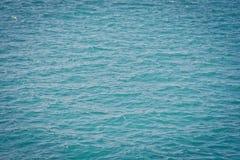 Superficie blu del mare Fotografia Stock