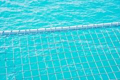 Superficie blu del mare Fotografie Stock